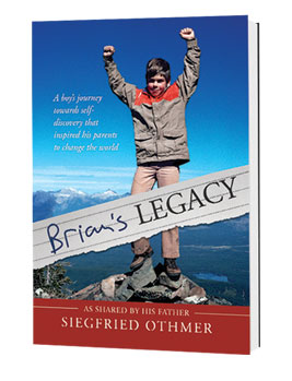 Brian's Legacy by Siegfried Othmer, Ph.D. Brian's Legacy chronicles the emotional journey of a dedicated father and his troubled son, by pairing Brian's journal entries with his father's recollections.