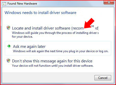 Windows needs to install driver software for your QIK